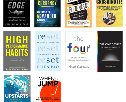 Top 10 Business Books 2018